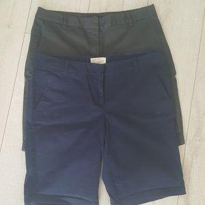 J.Crew Bermuda Shorts size 4
